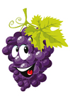 Imagen fruta - uvas