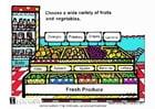 Imagen Frutas y verduras frescas