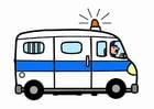 Imagen furgoneta de policía