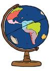 Imagen globo del mundo
