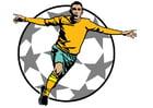 Imagen gol de fútbol