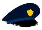 Imagen gorra de policía