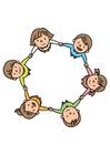 Imagen grupo de niños