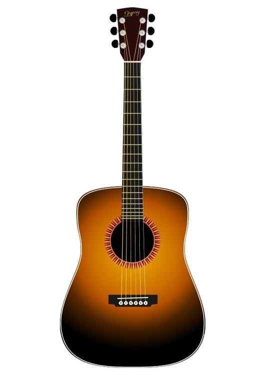 Imagen Guitarra acústica - Img 10446