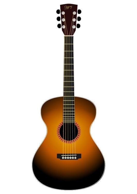 Imagen Guitarra acústica - Img 10447