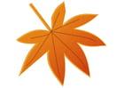 Imagen hoja de otoño