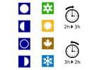 Imagen hora - estaciones