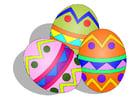 Imagen huevos de pascua