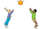 Imagen jugar a la pelota
