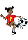 Imagen jugar al fútbol