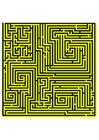 Imagen laberinto - amarillo
