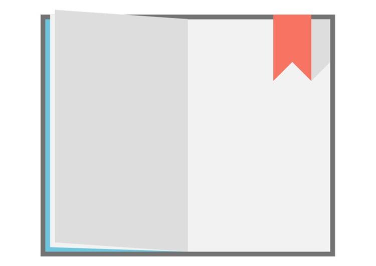 Imagen De Un Libro Abierto Para Colorear Avec Encantador: Imagen Libro Abierto