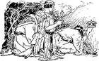 Dibujo para colorear Los Reyes Magos