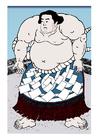 Imagen luchador de sumo