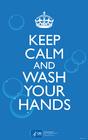 Imagen mantén la calma y lávate las manos