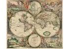 Imagen Mapa del mundo de 1689