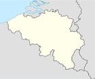 Imagen mapa en blanco de Bélgica