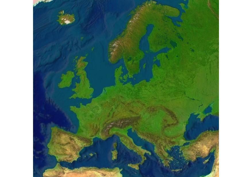Imagen Mapa en relieve de Europa  Img 8096