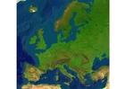 Imagen Mapa en relieve de Europa
