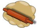 Imagen masa con rodillo