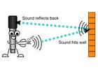 Imagen micrófono - eco