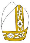 Imagen mitra papal
