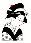 Imagen Mujer japonesa