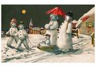 Imagen muñecos de nieve