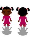 Imagen niña negra