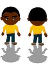 Imagen niño negro