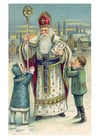Imagen niños con San Nicolás