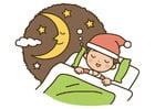 Imagen noche - dormir