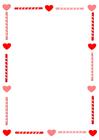 Imagen papel de carta de San Valentín
