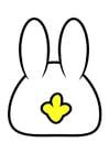 Imagen parte posterior de conejo
