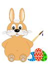 Imagen Pascua - conejo de Pascua