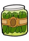 Imagen pepinillos en frasco