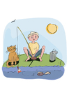 Imagen pescar