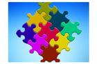 Imagen piezas de puzle