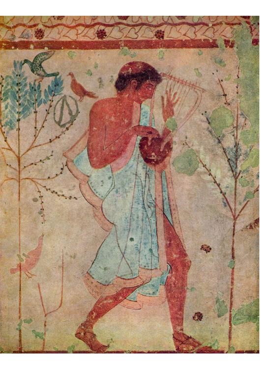 Imagen pintura etrusca - Imágenes Para Imprimir Gratis ...