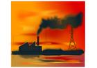 Imagen polución