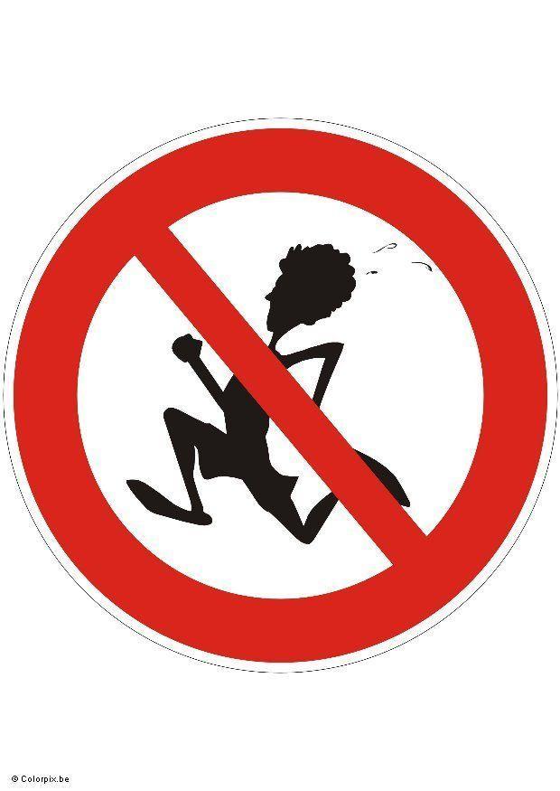 Imagen Prohibido correr [305x431]