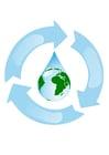 Imagen reciclaje de agua