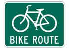 Imagen ruta en bicicleta