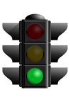 Imagen semáforo verde