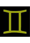 Imagen signo del zodíaco - géminis