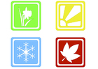 Imagen Símbolos de las estaciones