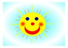 Imagen sol sonriente
