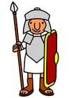 Imagen soldado romano