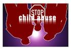 Imagen stop al abuso infantil