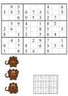 Imagen sudoku - monos